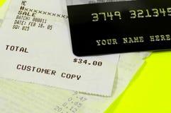 Customer Receipt royalty free stock photography