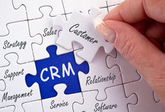 Customer relations Stock Image