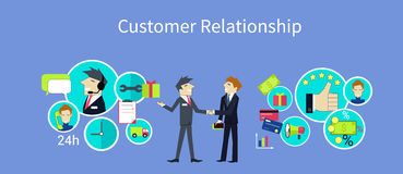 Customer Relationship Concept Design Royalty Free Stock Photo