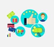 Customer Relationship Concept Design Stock Photos