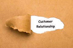 Customer relationship concept Royalty Free Stock Photo