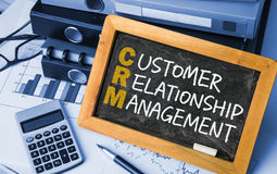 Customer relationship management concept Stock Photo