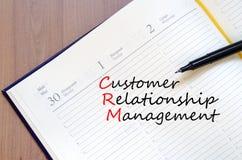 Customer relationship management concept Stock Photos