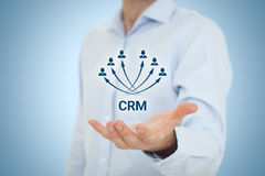 Customer relationship management CRM Royalty Free Stock Photo