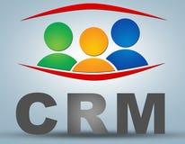 Customer Relationship Management Stock Image