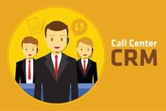 Customer relationship management di Crm Fotografia Stock