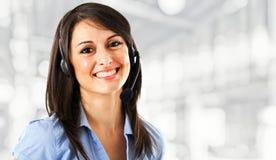 Customer representative Royalty Free Stock Photography