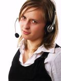 Customer representative Stock Images