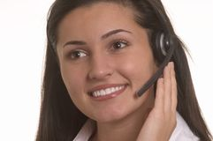 Customer Representative  Royalty Free Stock Photo