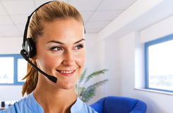 Customer representative portrait Stock Photography