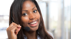 Customer representative Stock Photography