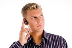 Customer representative wearing headset Stock Photography