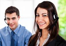 Customer representatives Stock Photography