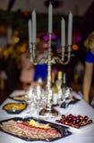 Customer in restaurant blur background Royalty Free Stock Photo