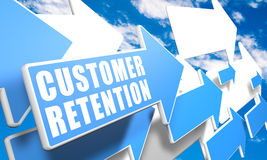 Customer Retention Stock Image
