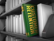 Customer Retention - Title of Book. Royalty Free Stock Photography