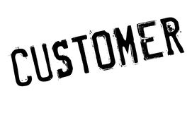 Customer rubber stamp Royalty Free Stock Image