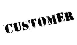 Customer rubber stamp Stock Photos