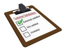 Customer satisfaction vector illustration