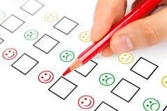 Customer satisfaction Royalty Free Stock Photo