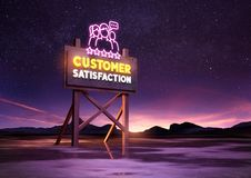Customer Satisfaction Concept Royalty Free Stock Photography