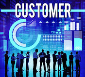 Customer Satisfaction Consumer Client Buyer Concept Stock Photography