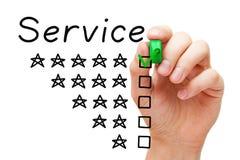 Customer Satisfaction Five Star Service Concept