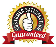 Customer Satisfaction Guaranteed Royalty Free Stock Photography