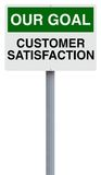 Customer Satisfaction Royalty Free Stock Photography