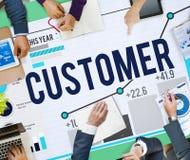 Customer Satisfaction Service Efficiency Loyalty Concept.  royalty free stock photos