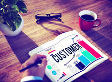 Customer Satisfaction Service Efficiency Loyalty Concept Stock Photography