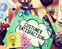 Customer Satisfaction Service Support Assistance Concept Royalty Free Stock Image