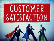 Customer Satisfaction Service Support Assistance Concept.  Stock Photography