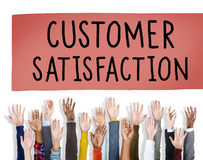 Customer Satisfaction Service Support Assistance Concept.  Royalty Free Stock Image