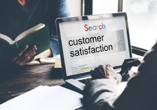 Customer Satisfaction Services Satisfied Concept Royalty Free Stock Photography