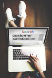 Customer Satisfaction Services Satisfied Concept Stock Photos