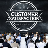 Customer Satisfaction Support Service Quality Concept Stock Photography