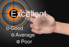 Satisfaction survey. Customer satisfaction survey as concept Royalty Free Stock Images