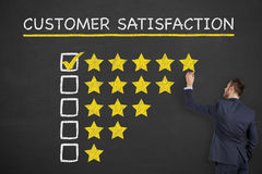 Customer Satisfaction. Working Conceptual Business Concept Royalty Free Stock Images