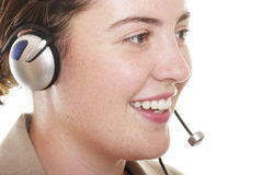 Customer service 1. Lady customer service 1 Royalty Free Stock Images