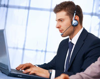 Customer service. Royalty Free Stock Image