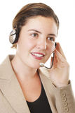Customer service 2. Lady customer service 2 Stock Photo