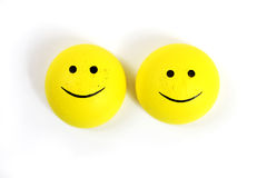 Customer service. Smiley face on a white background royalty free stock images