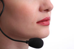 Customer Service Agent Royalty Free Stock Photos