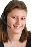 Customer service agent Royalty Free Stock Photography