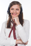 Customer service agent Stock Images