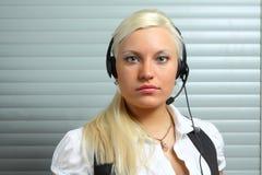 Customer service agent Royalty Free Stock Photo