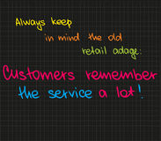 Customer Service Approach Stock Image