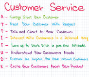 Customer Service approach Royalty Free Stock Photo