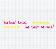 Customer Service approach Royalty Free Stock Images